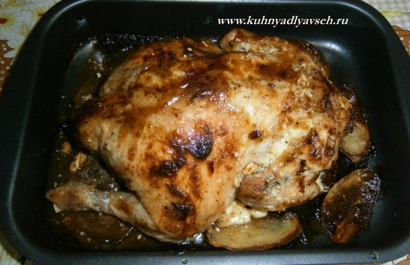 рецепт курицы в духовке