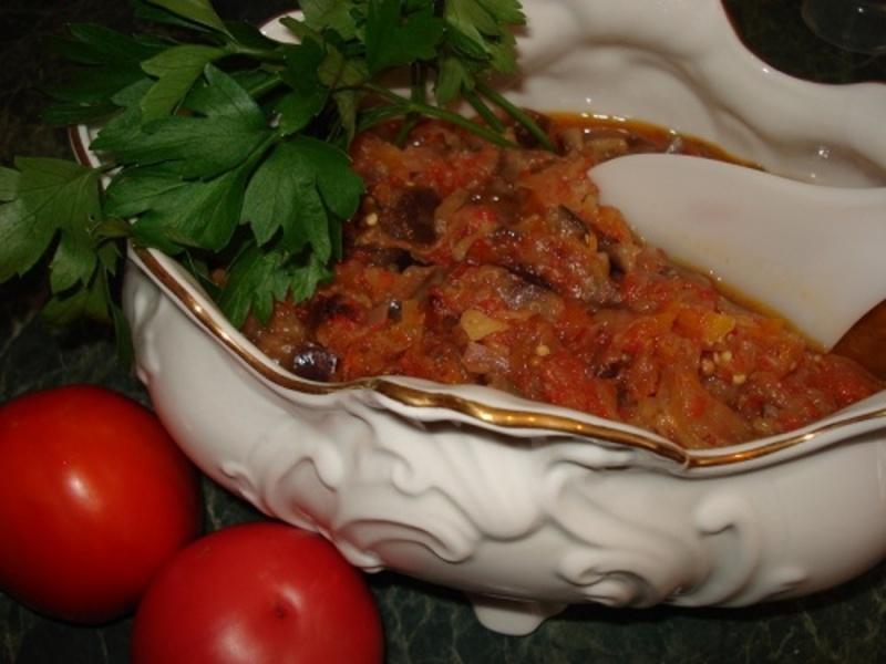 Вкусное соте из баклажанов рецепт с фото