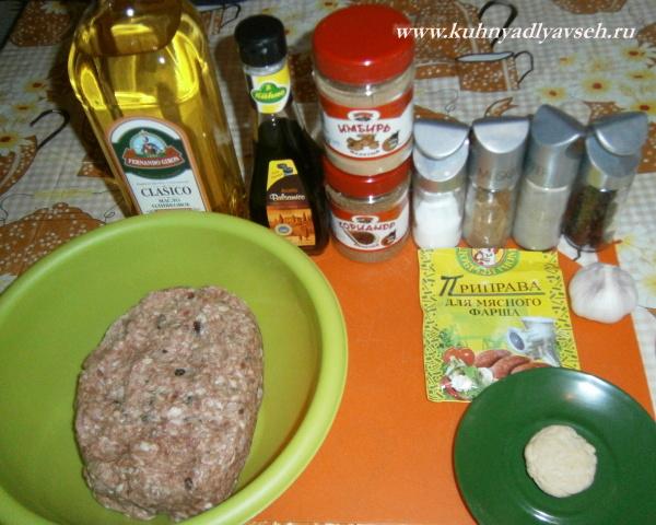 домашние колбаски в мультиварке
