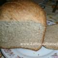 хлеб сметанный из цельнозерновой муки
