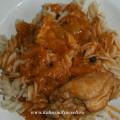 курица в сметанно-томатном соусе