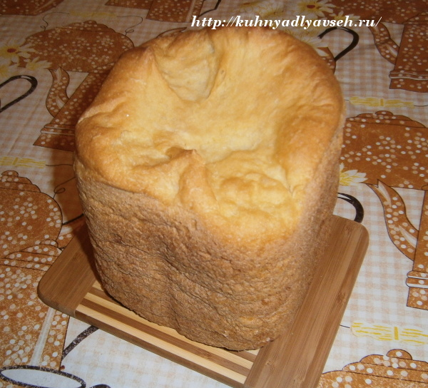 хлеб кукурузный на кефире