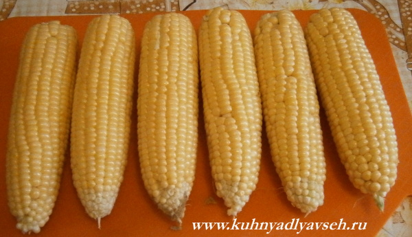 кукуруза сахарная в мультиварке