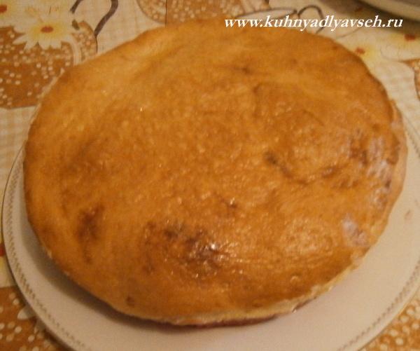 пирог с терносливой