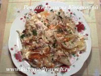 овощное ассорти с мясом в духовке