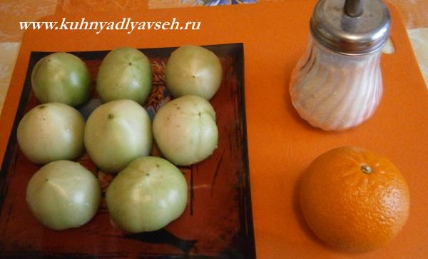 варенье из зеленых помидоров в хлебопечке