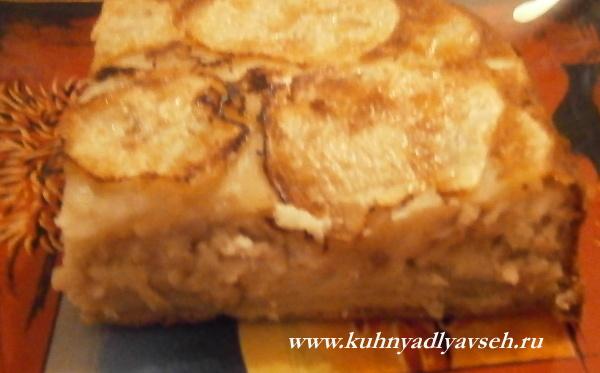 пирог-перевертыш с курицей