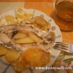 карп с картофелем в духовке