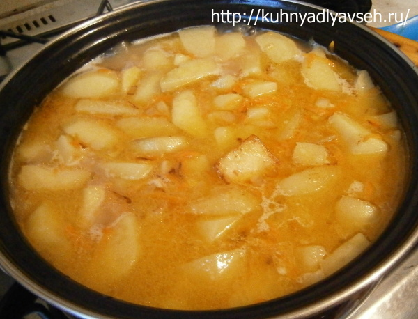 индюшатина с картофелем