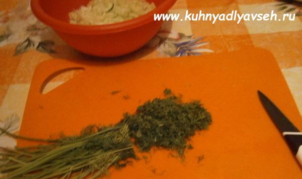 салат из сельдерея и огурцов