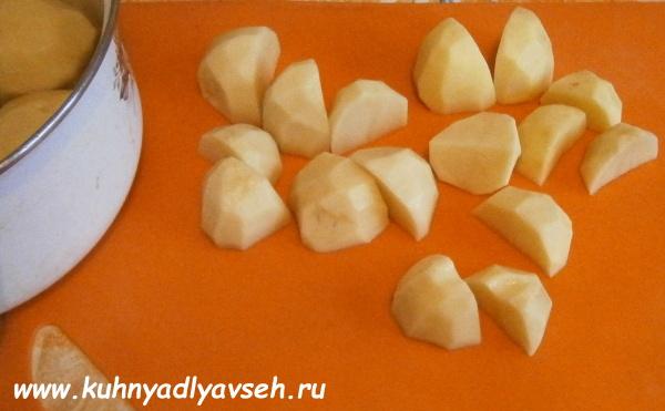 баранина с картофелем