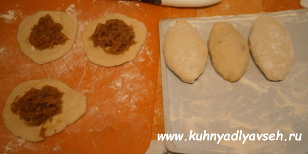 пирожки с капустой для ленивых