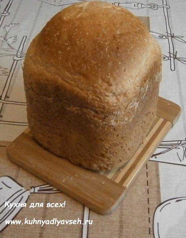 хлеб с амарантом и кунжутом