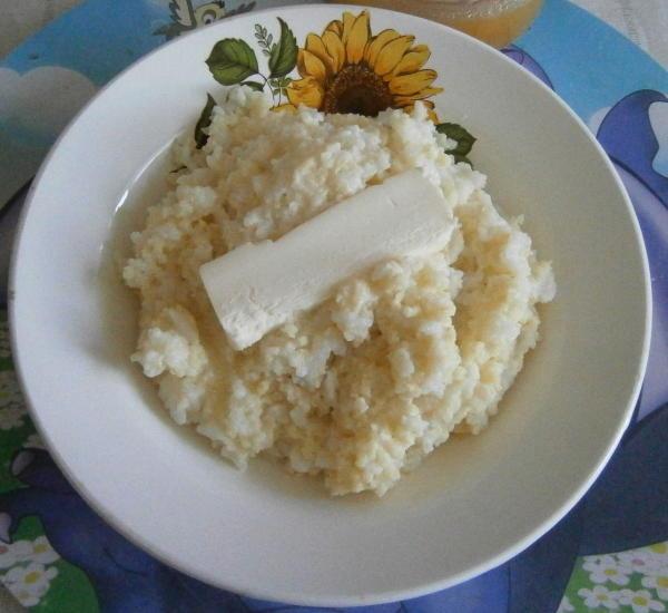 Каша пшённо-рисовая в мультиварке
